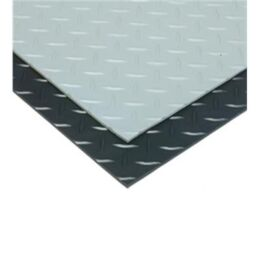 Checker Plate Rubber Matting Single & Five Bar-0