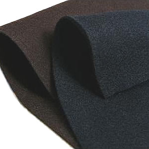 Medium Density Black Industrial Felt 9mm Thickness-0