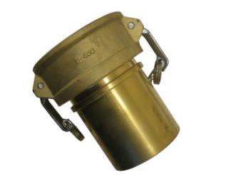 Female Coupler x Hose Tail Brass-0
