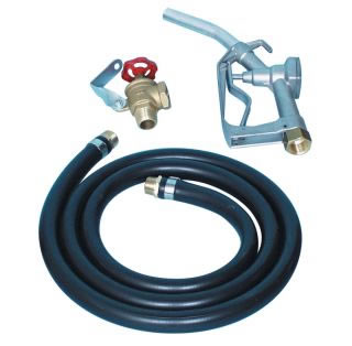 Gravity feed kits, hose, nozzle & locking angle valve-0