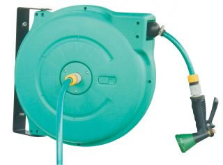 Hose Reels & Wash Down Guns C701-GAR Garden Reel-0