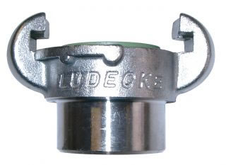 European Type Compressor Couplings Stainless Steel Female Claw Couplings DIN 3489-0