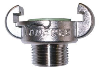 European Type Compressor Couplings Stainless Steel Male Claw Couplings DIN 3489-0