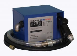 Compact cabinet diesel pump kit, accuracy +/-2%, 45L/min, 230V-0
