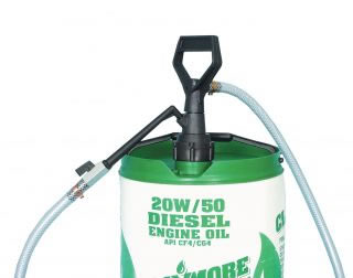 Gear oil piston pump, dispenses approx 100ml per stroke-0