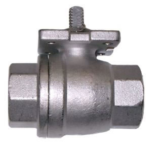 2-pc Full Bore with ISO Mounting Flanges (No Handles)-0