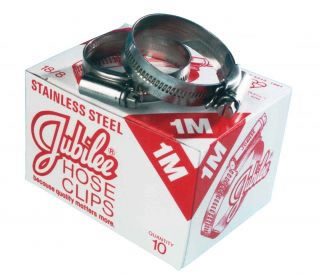 JUBILEE HOSE CLIPS 304 Stainless Steel Hose Clips-0