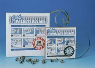 JUBILEE MULTIBAND - 'SNIP THE CLIP!' 11mm Zinc Plated Mild Steel-0
