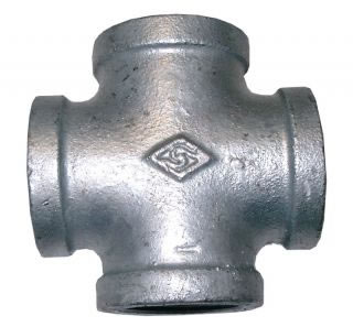 Equal Cross Galvanised BSPP-0