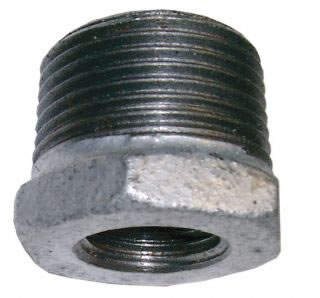 Male/Female Hexagon Bush Galvanised-0