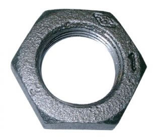 Hexagon Back Nut Black-0