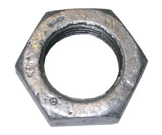 Hexagon Back Nut Galvanised-0
