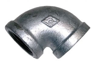 Equal Female Elbow Galvanised BSPP-0