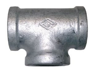 Equal Female Tee Galvanised BSPP-0