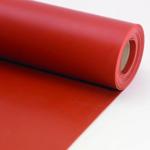 Red Rubber Sheeting