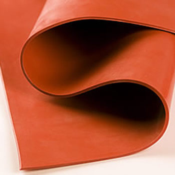 Rubber Sheets Online Silicone Rubber Sheet – Red